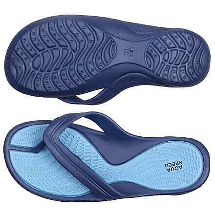 Žabky - Aruba dámské žabky barva: modrá;velikost (obuv / ponožky): 38