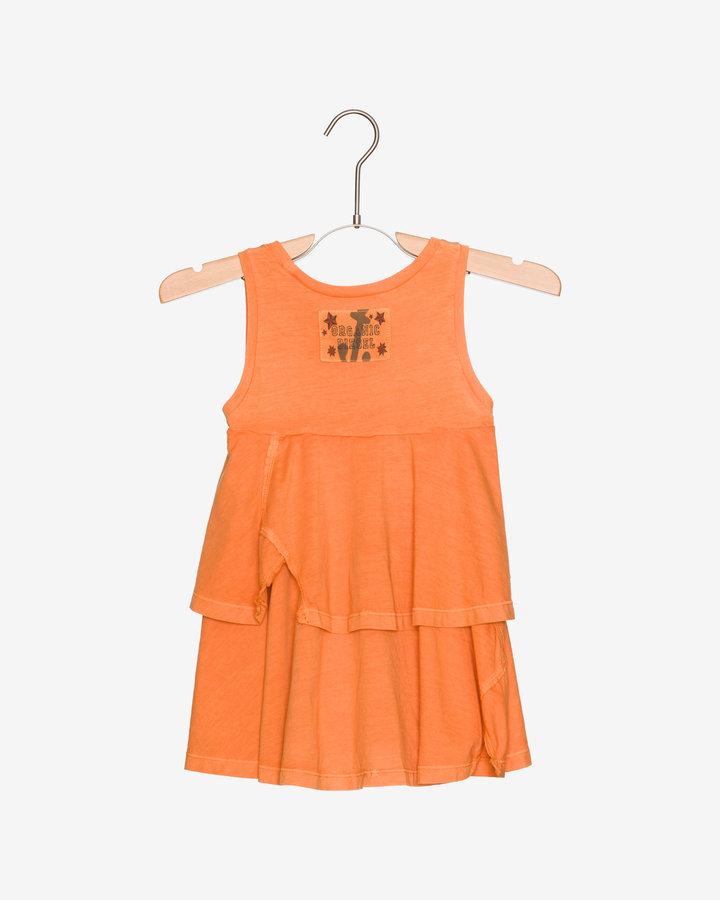 Oranžové dívčí šaty Diesel - velikost XXL