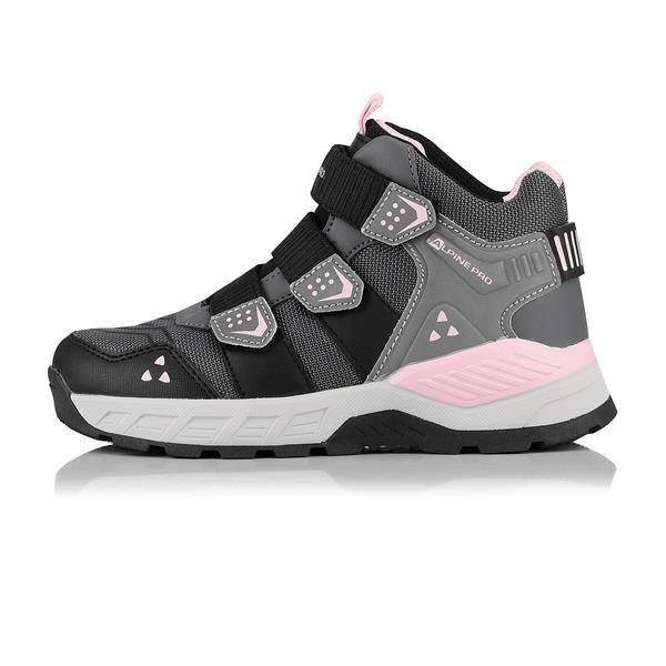 Šedé dětské trekové boty Alpine Pro