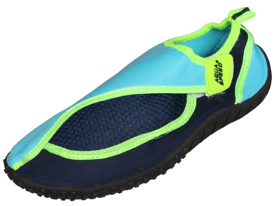 Černo-modré dětské boty do vody Jadran 26, Aqua-Speed - velikost 26 EU