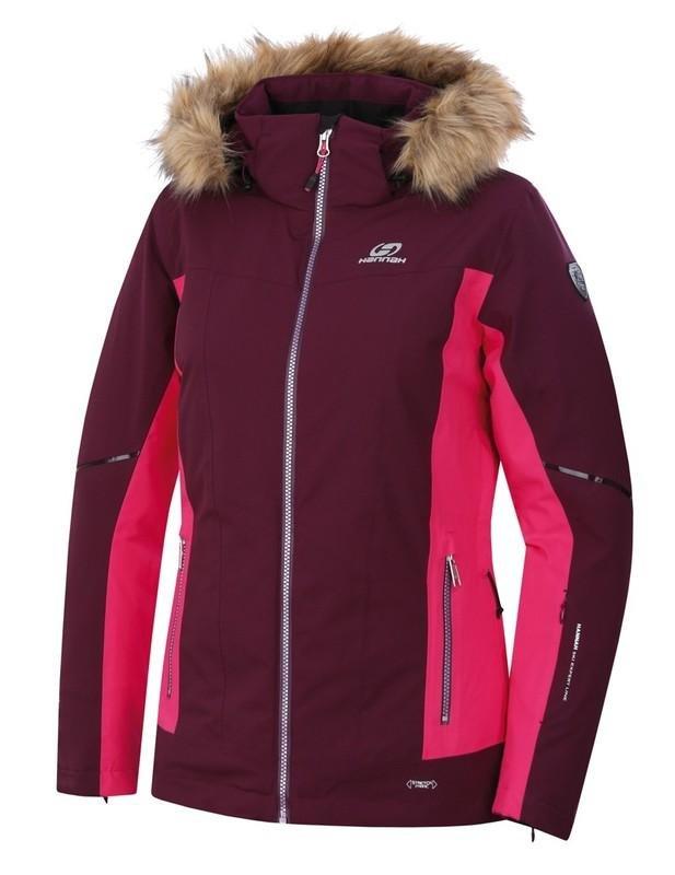 Červená dámská lyžařská bunda Hannah - velikost 36