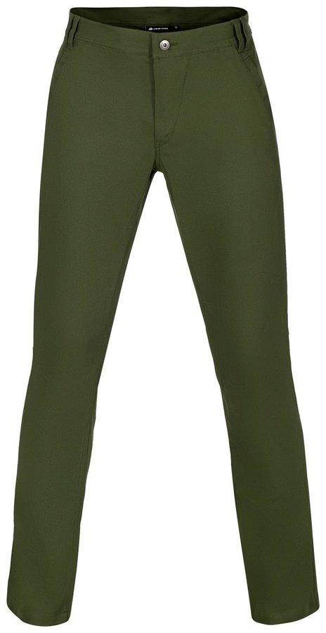 Zelené pánské kalhoty Alpine Pro - velikost 56
