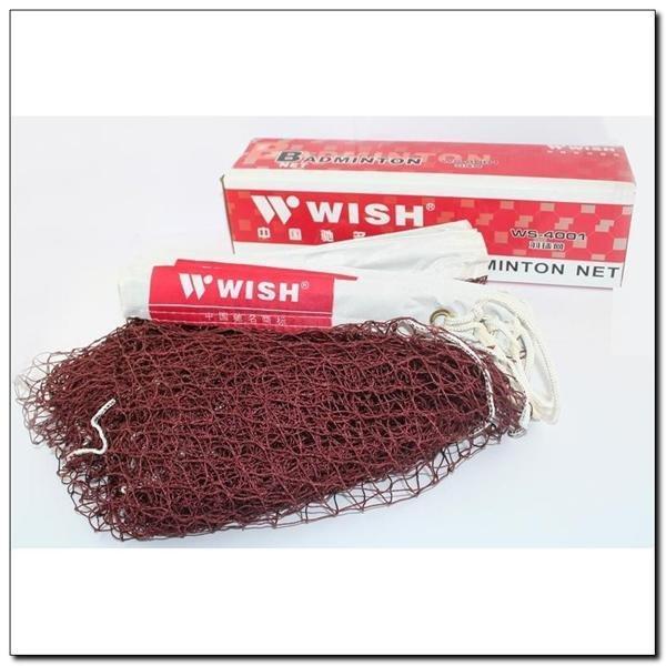 Černá profi síť na badminton Wish - délka 604 cm