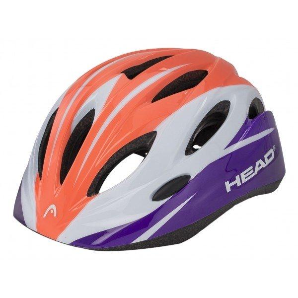 Různobarevná dětská cyklistická helma Head