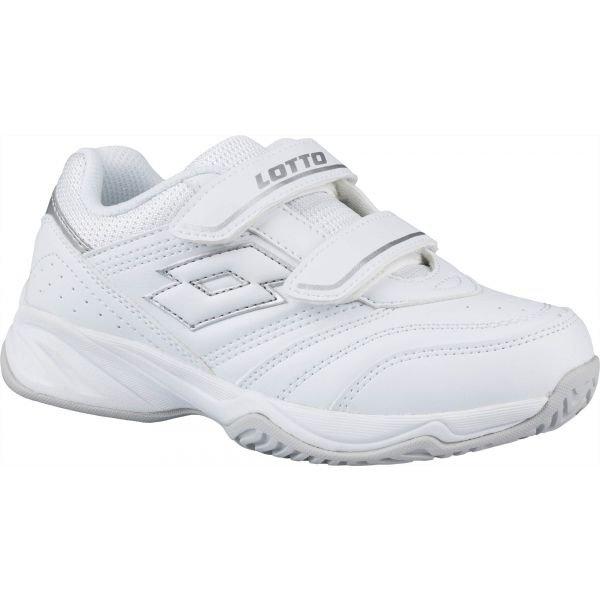 Bílá dětská tenisová obuv Lotto