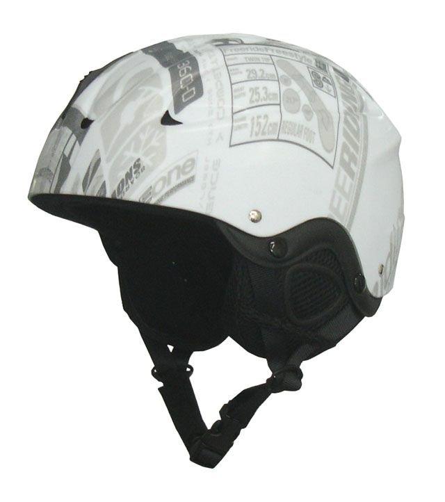 Bílá helma na snowboard Brother - velikost 48-52 cm
