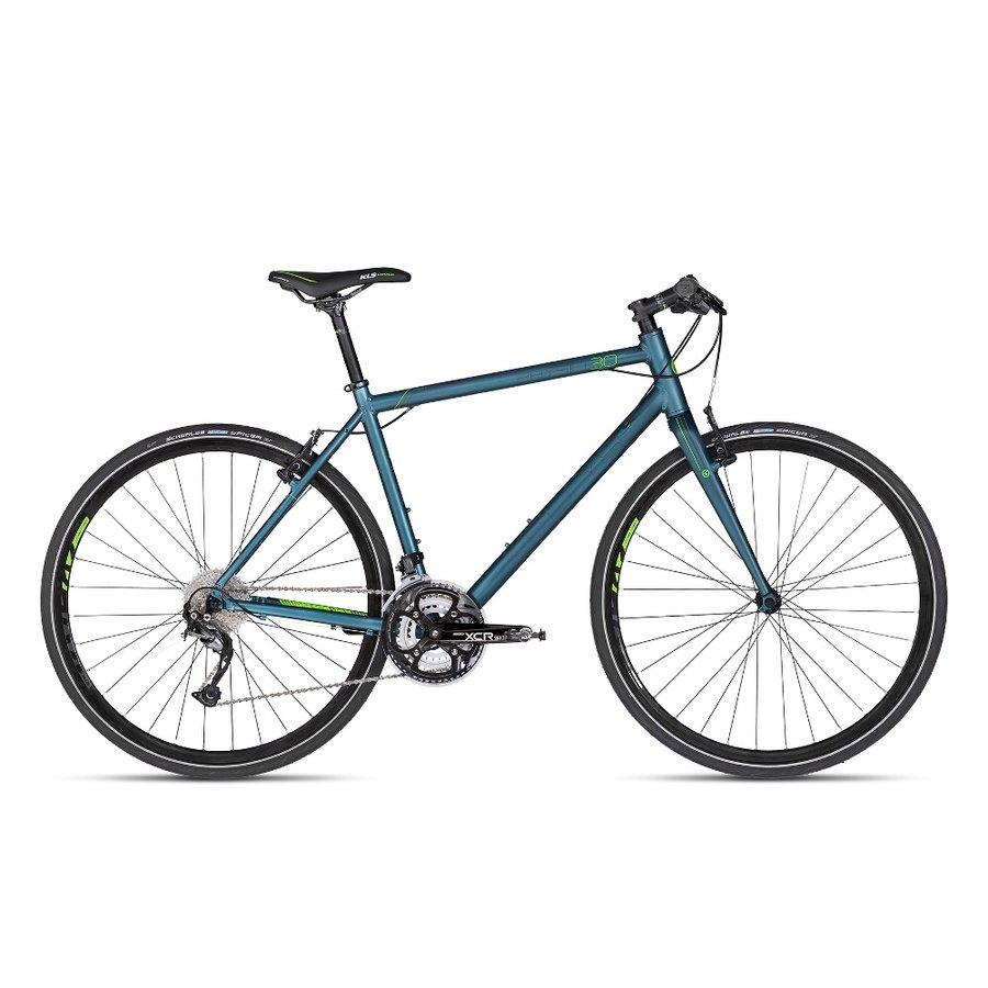 Modré silniční kolo Physio 30 2018, Kellys