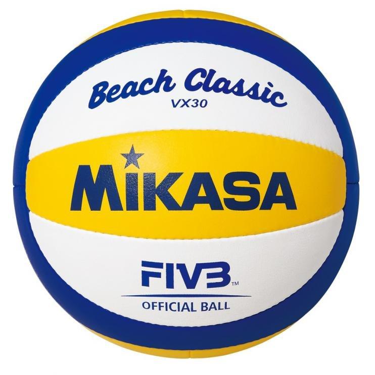 Různobarevný volejbalový míč VX 30, Mikasa - velikost 5