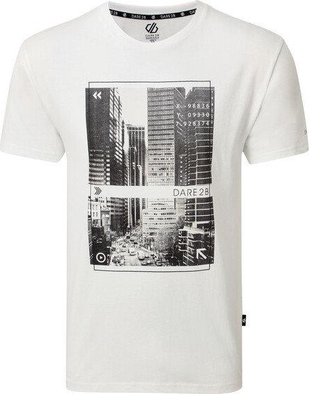 Bílé pánské tričko s krátkým rukávem Dare 2b
