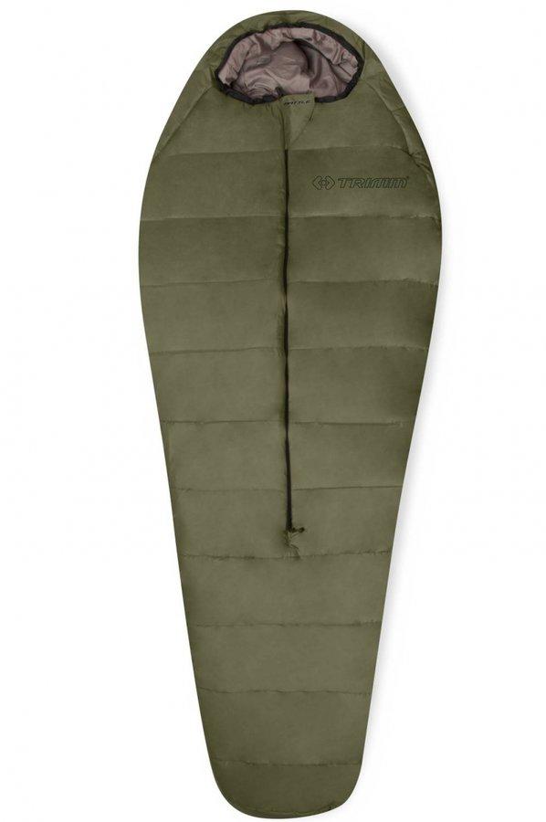 Khaki spací pytel Trimm - délka 220 cm