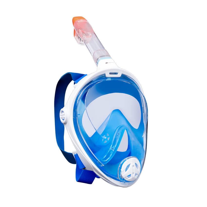 Potápěčská maska - Aquatics Celoobličejová šnorchlovací maska L/XL, vel. none