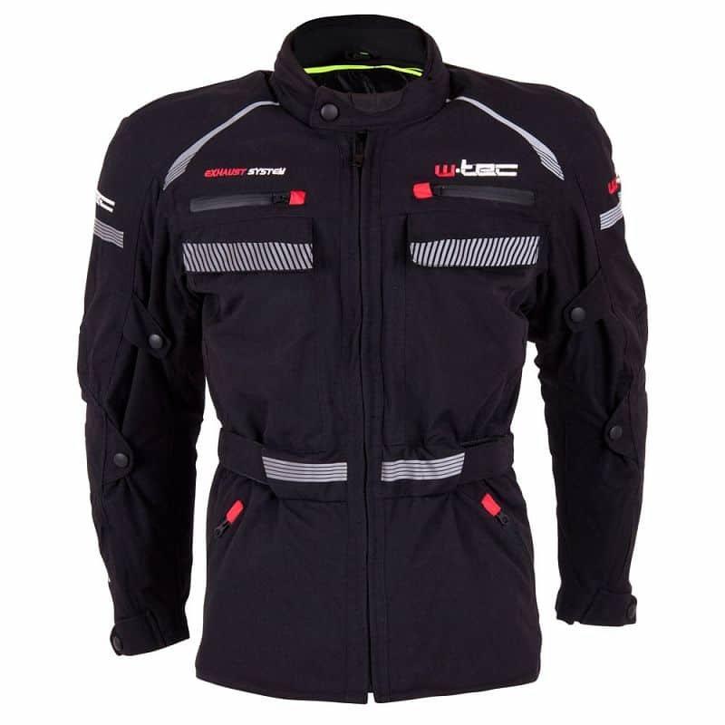 Černá pánská motorkářská bunda Sokar, W-TEC - velikost XL