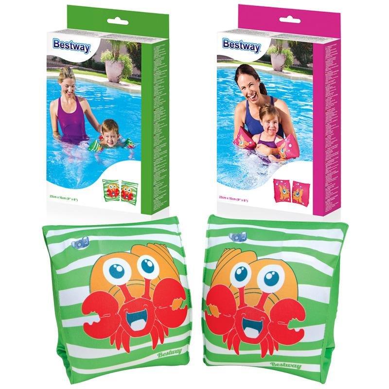 Zelené dětské nafukovací plavecké rukávky