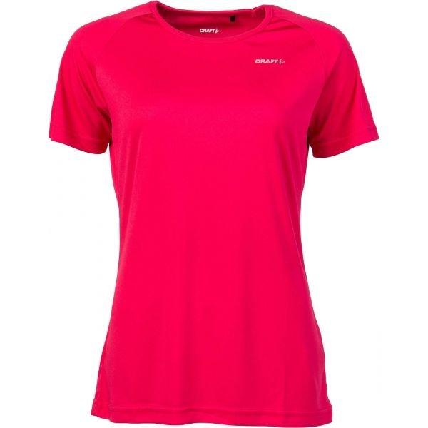 Červené dámské funkční tričko s dlouhým rukávem Craft - velikost S