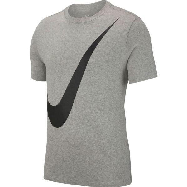 Šedé pánské tričko s krátkým rukávem Nike