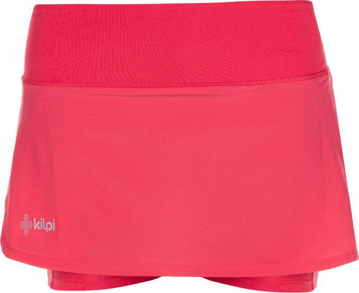 Růžové dámské běžecké kraťasy Kilpi, Růžová dámská běžecká sukně Kilpi