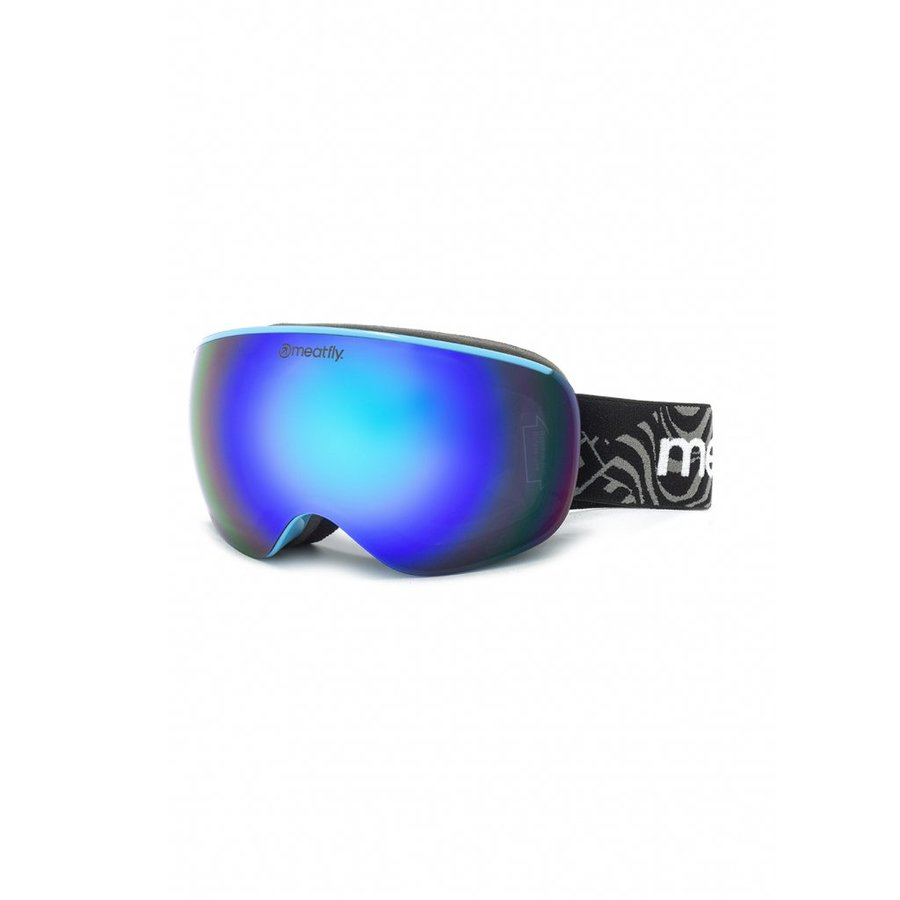 Brýle na snowboard - Meatfly Ekko S Goggles B - Blue Velikost: S
