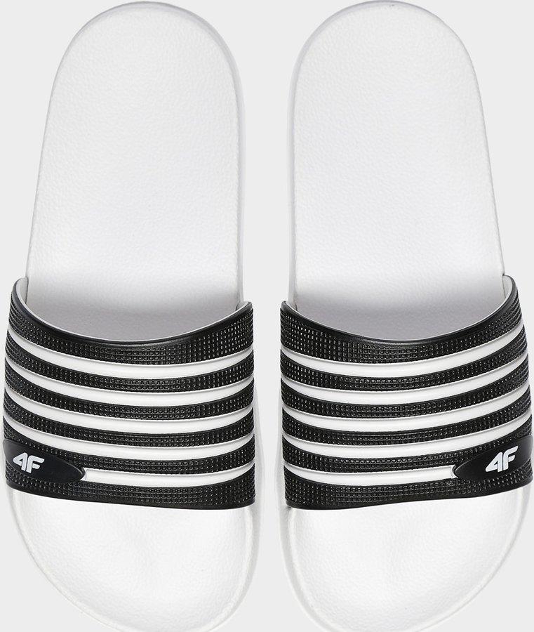 Černé dámské pantofle 4F