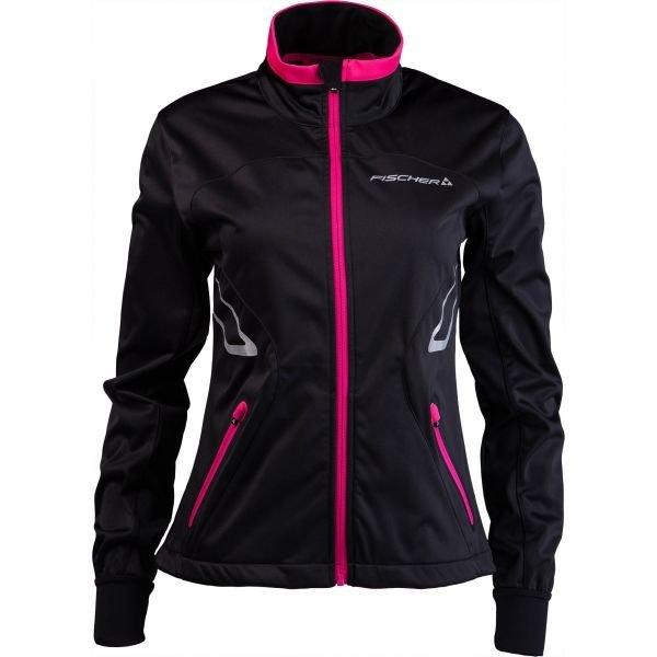 Černá dámská bunda na běžky Fischer - velikost XS