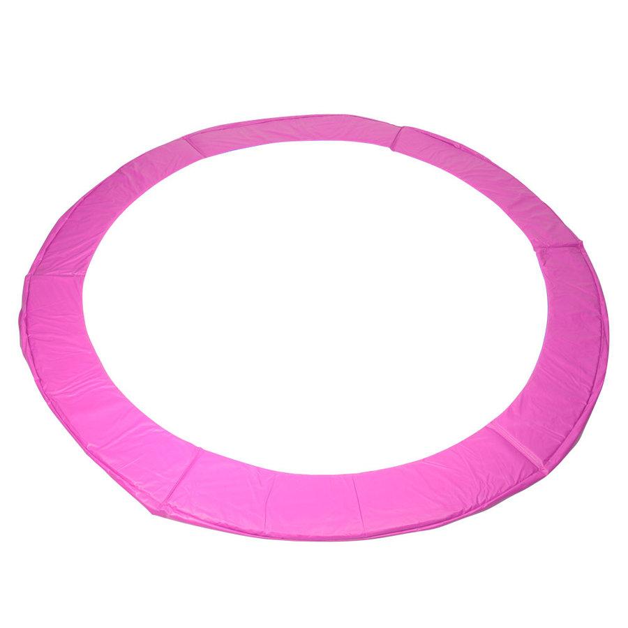 Růžový kryt pružin na trampolínu inSPORTline - průměr 183 cm a šířka 33 cm
