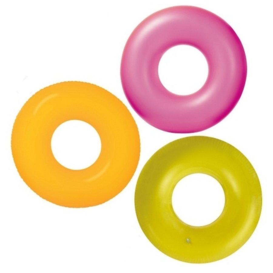 Žlutý nafukovací kruh INTEX - průměr 91 cm