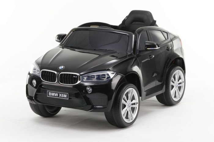 Černé dětské elektrické autíčko BMW X6M NEW, Beneo