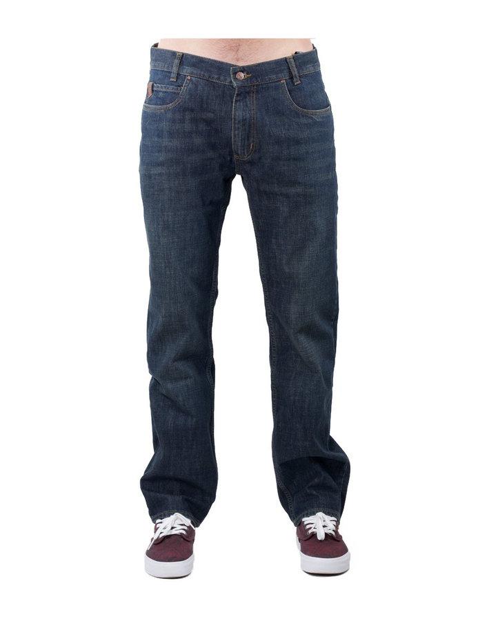 Kalhoty - MEATFLY Justyn C - Dirty Wash Denim Velikost: 33