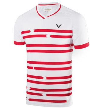 Bílé pánské funkční tričko s krátkým rukávem Victor
