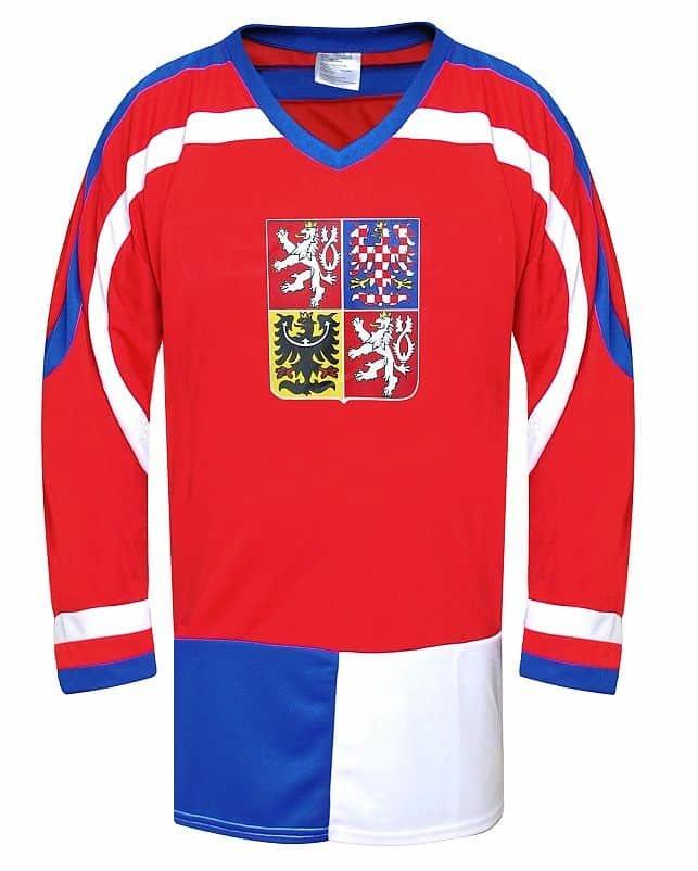 Červený hokejový dres SportTeam