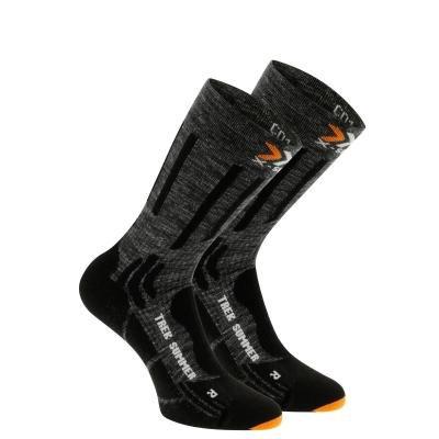 Černé unisex ponožky Sidas - velikost 39-41 EU