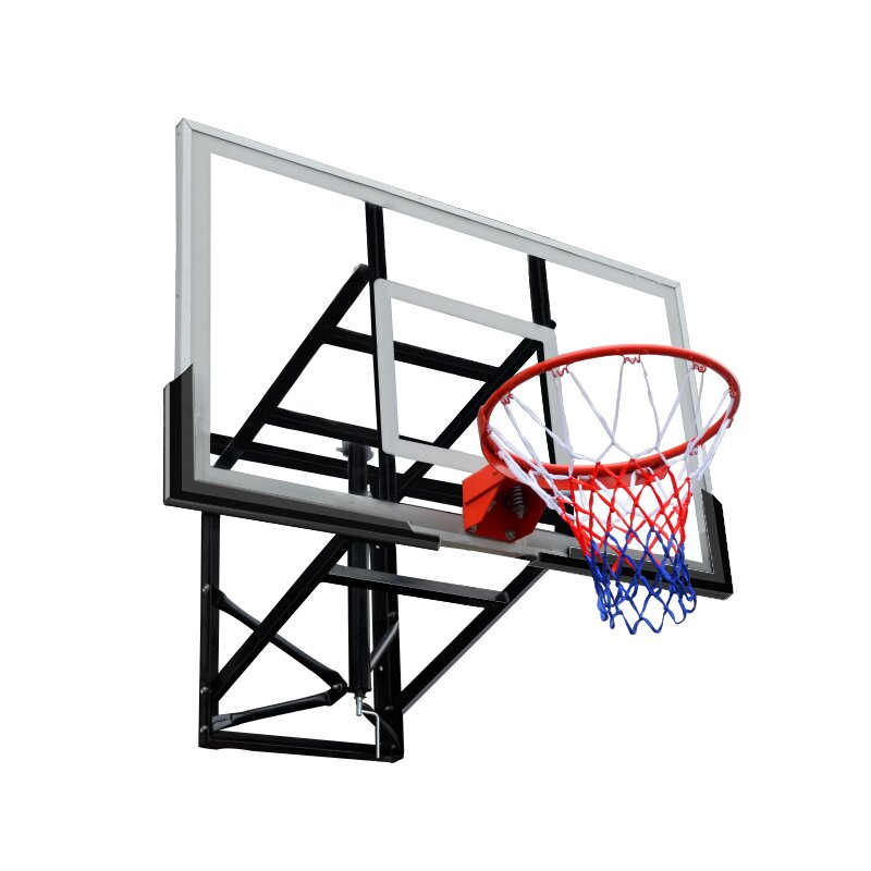 Basketbalový koš s deskou s konstrukcí Master - průměr 45 cm