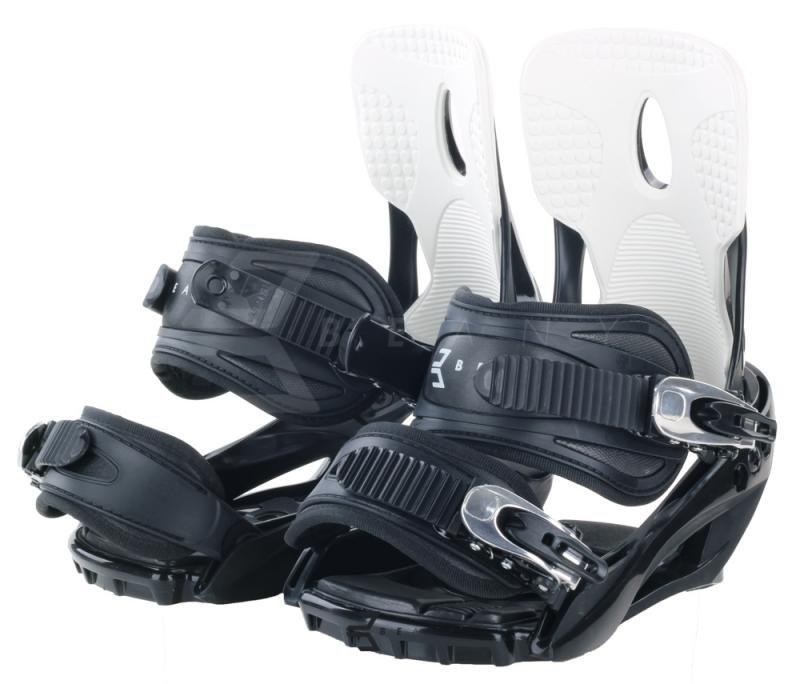 Černé vázání na snowboard Beany - velikost 40-44 EU