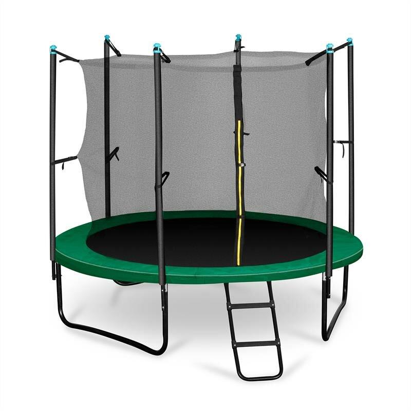 Kruhová trampolína s ochrannou sítí Klarfit - průměr 250 cm