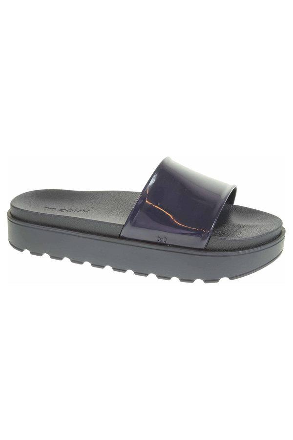 Modré dámské pantofle Zaxy