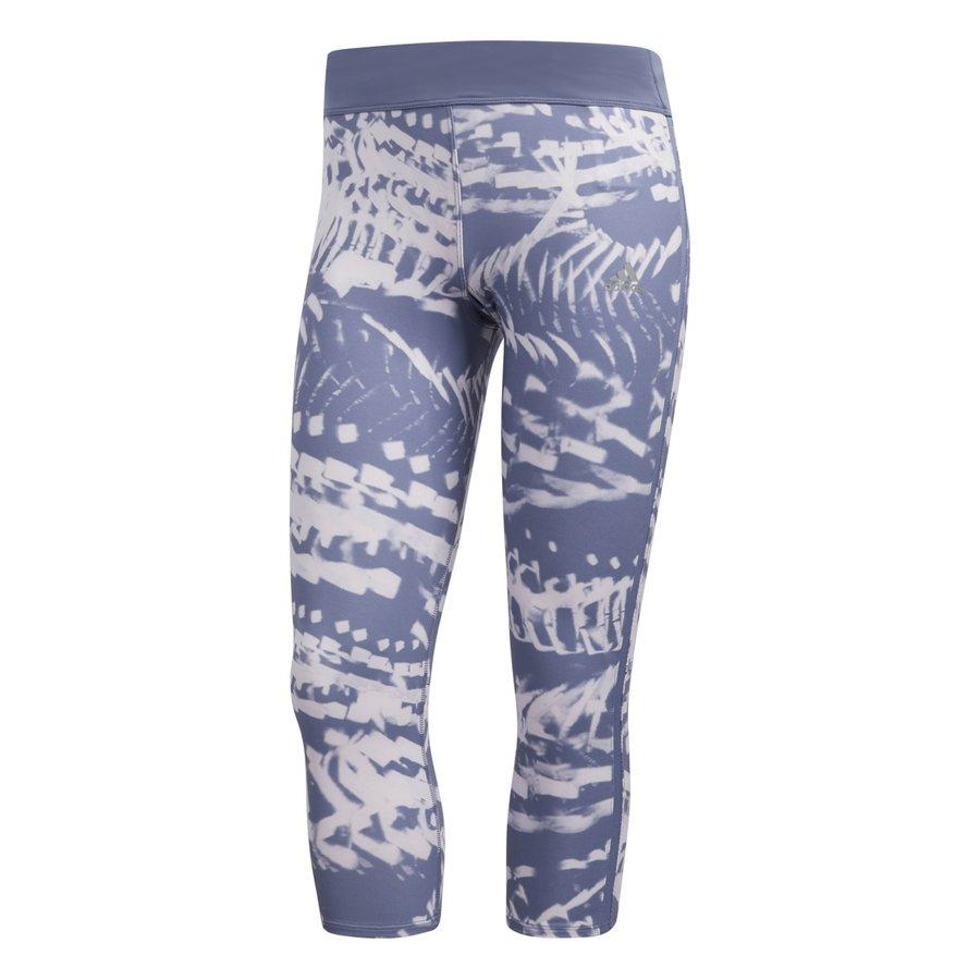 Modré dámské legíny Adidas - velikost XS