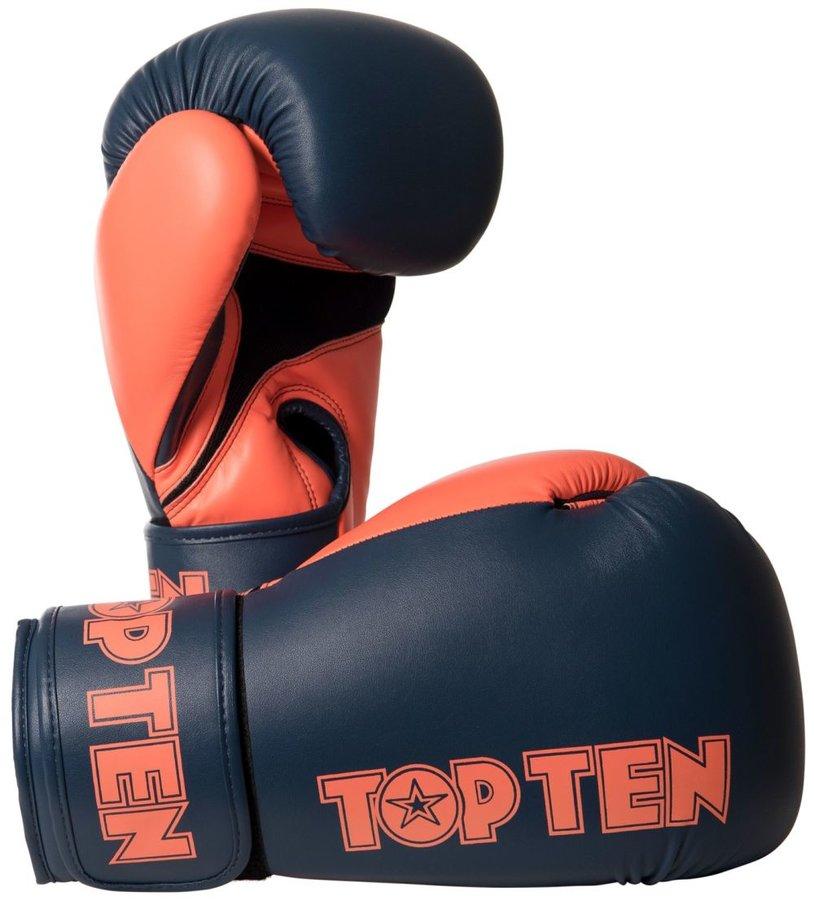 Šedé boxerské rukavice Top Ten