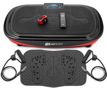 Vibrační plošina s gumovými expandéry Crown, Hop-Sport - nosnost 120 kg