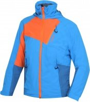 Modrá dětská chlapecká nebo dívčí lyžařská bunda Zawi, Husky - velikost 122-128