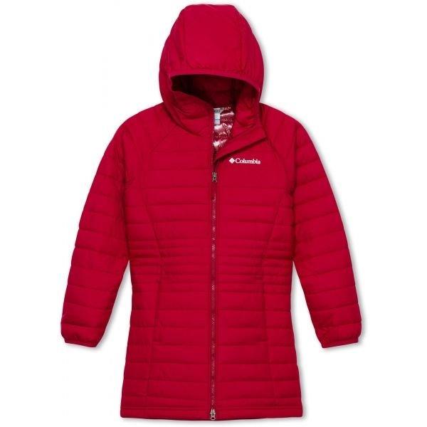 Červená dívčí bunda Columbia