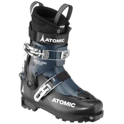 Černo-modré lyžařské boty Atomic