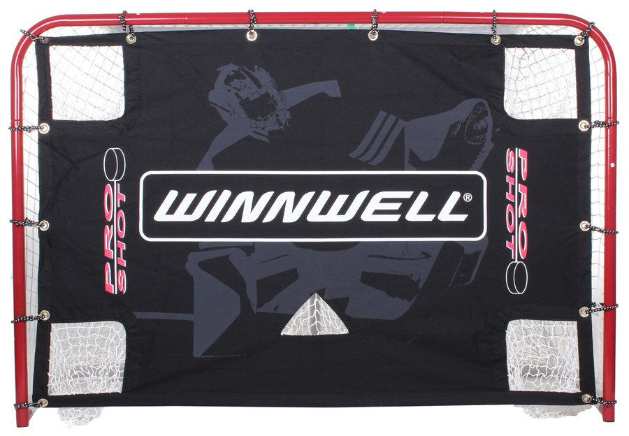 Střelecká hokejová plachta - Winnwell Pro Shot 72 střelecká plachta s otvory