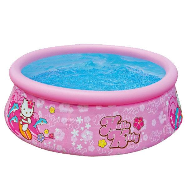 Dětský nadzemní nafukovací kruhový bazén INTEX - průměr 183 cm a výška 51 cm