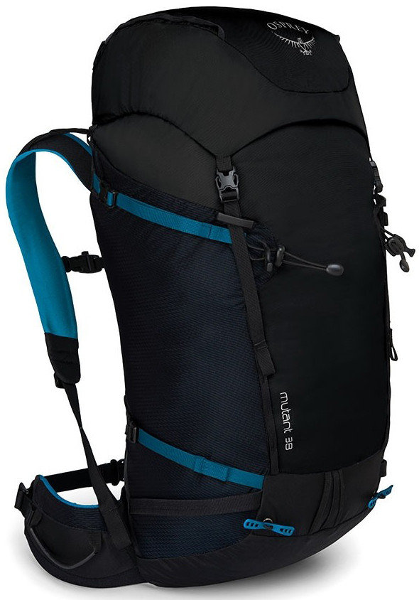 Černý skialpový batoh Osprey - objem 38 l