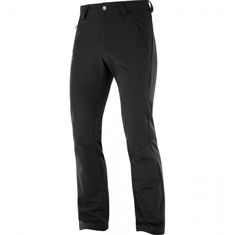 Černé pánské kalhoty Salomon - velikost M