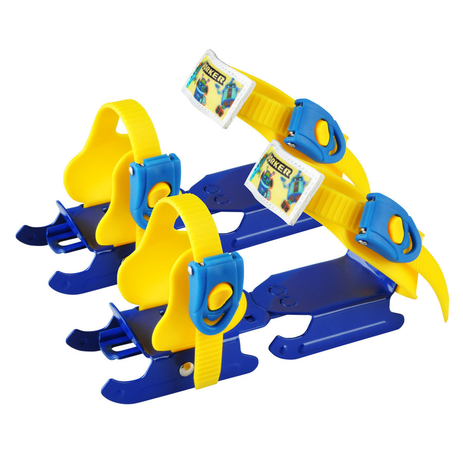 Lední brusle - Dětské brusle kačenky WORKER Duckss Blue