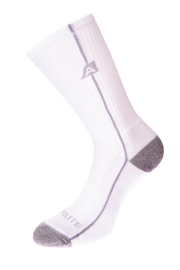 Bílé vysoké ponožky Alpine Pro