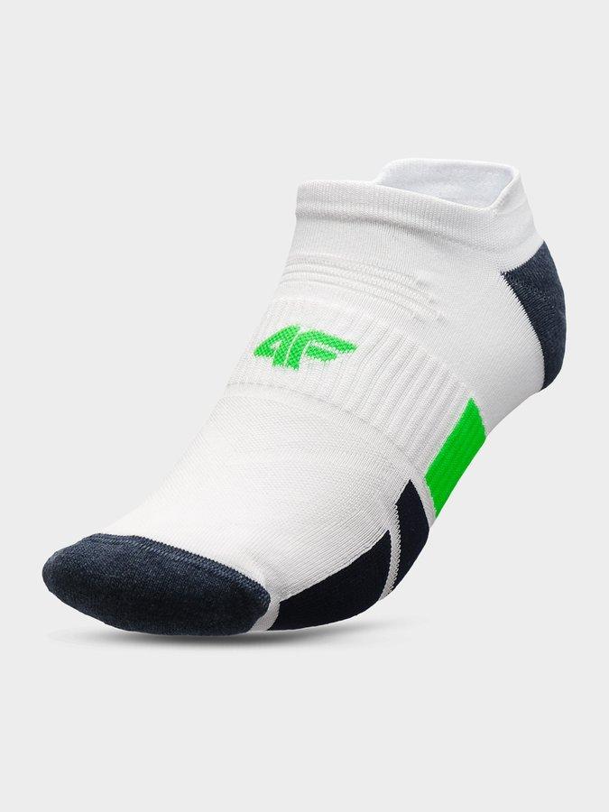 Bílé pánské ponožky 4F - velikost 43-46 EU
