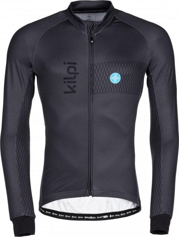 Šedý pánský cyklistický dres Kilpi
