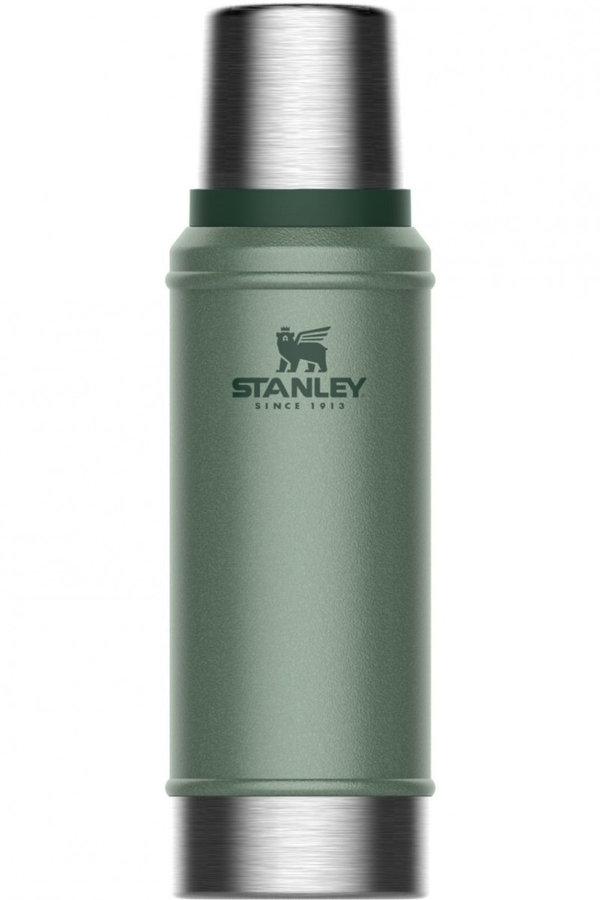 Zelená termoska na pití Stanley - objem 0,75 l