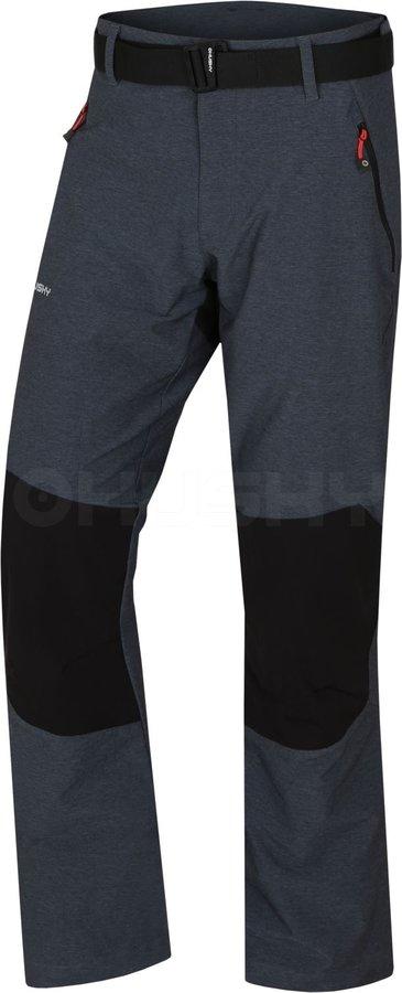 Černé pánské turistické kalhoty Husky - velikost L